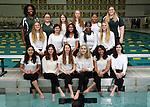 12-22-16, Huron High School synchronized swimming team