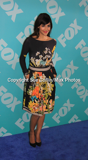 Hannah Simone - New Girl at the 2013 Fox Upfront Post Party on May 13, 2013 at Wolman Rink, Central Park, New York City, New York. (Photo by Sue Coflin/Max Photos)