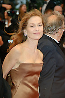 "Isabelle Huppert attending the ""Amour"" Premiere during the 65th annual International Cannes Film Festival in Cannes, France, 20th May 2012..Credit: Timm/face to face /MediaPunch Inc. ***FOR USA ONLY***"
