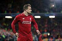 Liverpool's Xherdan Shaqiri<br /> <br /> Photographer Rich Linley/CameraSport<br /> <br /> UEFA Champions League Semi-Final 2nd Leg - Liverpool v Barcelona - Tuesday May 7th 2019 - Anfield - Liverpool<br />  <br /> World Copyright © 2018 CameraSport. All rights reserved. 43 Linden Ave. Countesthorpe. Leicester. England. LE8 5PG - Tel: +44 (0) 116 277 4147 - admin@camerasport.com - www.camerasport.com