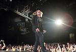 Joe Elliott, singer for the classic hard rock band Def Leppard, performs at the Susquehanna Bank Center in Camden, NJ June 26, 2011. Copyright EML/Rockinexposures.com.