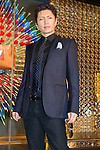 March 16, 2012, Tokyo, Japan - Japanese artist Gackt attends a photo call for a Kim Jones event at the Louis Vuitton store in Roppongi Hills. (Photo by Christopher Jue/AFLO)