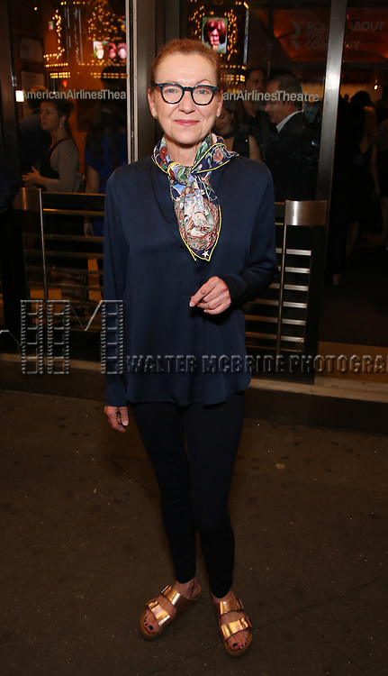 Julie White attends the Broadway Opening Night performance of The Roundabout Theatre Company production of 'Time and The Conways'  on October 10, 2017 at the American Airlines Theatre in New York City.