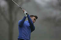 Greg Hurley (The Hertfordshire) during the first round of the Peter McEvoy Trophy played at Copt Heath Golf Club, Solihull, England. 11/04/2018.<br /> Picture: Golffile | Phil Inglis<br /> <br /> <br /> All photo usage must carry mandatory copyright credit (&copy; Golffile | Phil Inglis)