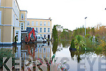 The flooded Lake Hotel, Killarney on Friday after the heavy rainfall on Thursday night