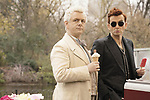 David Tennant & Michael Sheen<br /> Good Omens (2019) <br /> *Filmstill - Editorial Use Only*<br /> CAP/RFS<br /> Image supplied by Capital Pictures