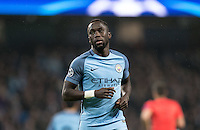 Bacary Sagna of Manchester City during the UEFA Champions League GROUP match between Manchester City and Celtic at the Etihad Stadium, Manchester, England on 6 December 2016. Photo by Andy Rowland.