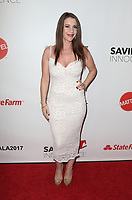 HOLLYWOOD, CA - SEPTEMBER 30: Pattie Mallette, at The 6th Annual Saving Innocence Gala at Loews Hollywood Hotel, California on September 30, 2017. Credit: Faye Sadou/MediaPunch