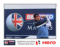 Scott Hend (AUS) on the 10th tee during the Pro-Am of the Betfred British Masters 2019 at Hillside Golf Club, Southport, Lancashire, England. 08/05/19<br /> <br /> Picture: Thos Caffrey / Golffile<br /> <br /> All photos usage must carry mandatory copyright credit (&copy; Golffile | Thos Caffrey)