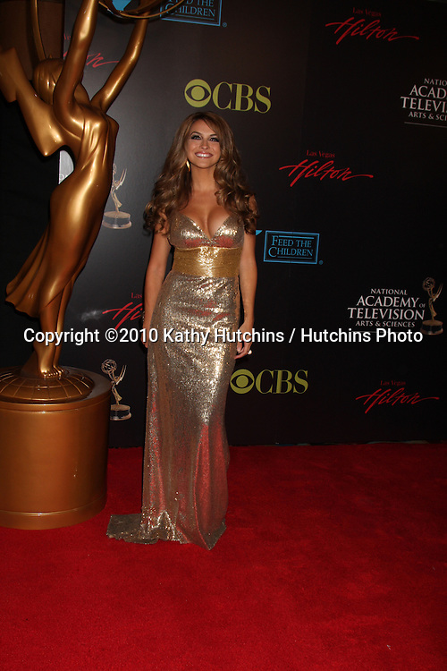Chrishell Stause.arrives at the 2010 Daytime Emmy Awards .Las Vegas Hilton Hotel & Casino.Las Vegas, NV.June 27, 2010.©2010 Kathy Hutchins / Hutchins Photo....
