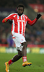 Mame Biram Diouf of Stoke City - Barclays Premier League - Stoke City vs Manchester City - Britannia Stadium - Stoke on Trent - England - 11th February 2015 - Picture Simon Bellis/Sportimage