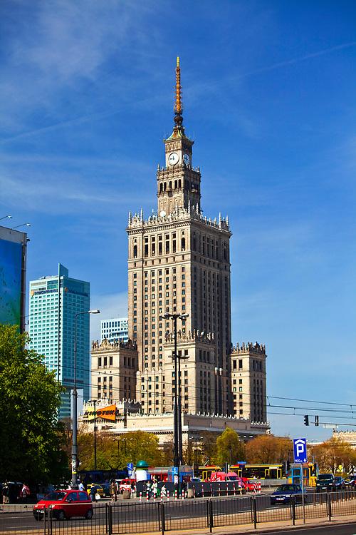 Pałac Kultury i Nauki w Warszawie, Polska<br /> Palace of Culture and Science in Warsaw, Poland