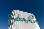 The Eden Roc..Morris Lapidus was the greatest architect Miami Beach has ever known.