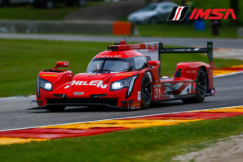 IMSA WeatherTech SportsCar Championship<br /> Continental Tire Road Race Showcase<br /> Road America, Elkhart Lake, WI USA<br /> Friday 4 August 2017<br /> 31, Cadillac DPi, P, Dane Cameron, Eric Curran<br /> World Copyright: Jake Galstad<br /> LAT Images