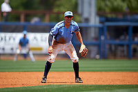 Charlotte Stone Crabs third baseman Kevin Padlo (11) during a game against the Lakeland Flying Tigers on April 16, 2017 at Charlotte Sports Park in Port Charlotte, Florida.  Lakeland defeated Charlotte 4-2.  (Mike Janes/Four Seam Images)