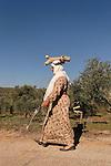 Samaria, Palestinian woman near Yanun