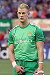 23 May 2013:  Joe Hart (1)(ENG) of Manchester City.  Chelsea F.C. was defeated by Manchester City 3-4 at Busch Stadium in Saint Louis, Missouri, in a friendly exhibition soccer match.
