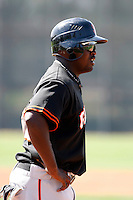 Wendell Fairley  - San Francisco Giants - 2009 spring training.Photo by:  Bill Mitchell/Four Seam Images