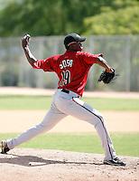 Keny Sosa - Arizona Diamondbacks, 2009 Instructional League.Photo by:  Bill Mitchell/Four Seam Images..
