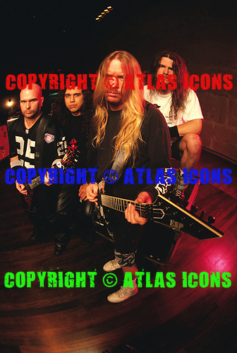 Slayer, 1995.Photo Credit:Joe Giron /Atlasicons.com