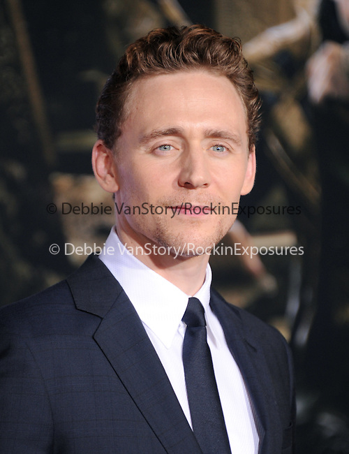 Hollywood, CA - NOVEMBER 04: Tom Hiddleston arrives to Marvel's  THOR: THE DARK WORLD Premiere held at El Capitan Theatre in Hollywood, California on November 04,2012                                                                               © 2013 Hollywood Press Agency