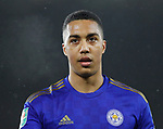 Youri Tielemans of Leicester City during the Carabao Cup match at the King Power Stadium, Leicester. Picture date: 8th January 2020. Picture credit should read: Darren Staples/Sportimage