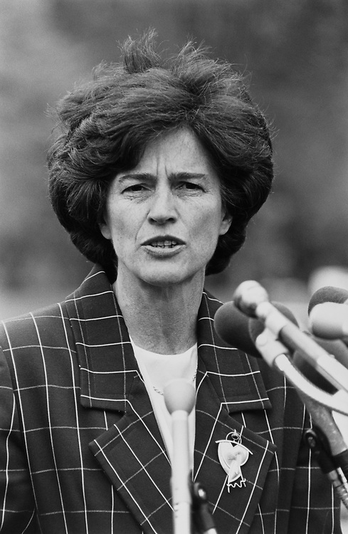 Comptroller Elizabeth Holtzman, D-N.Y.C., in May 1992. (Photo by Maureen Keating/CQ Roll Call via Getty Images)