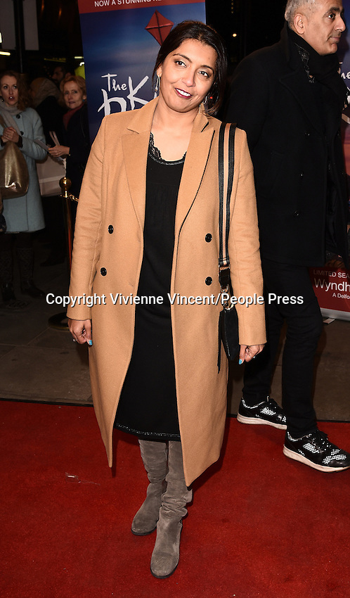 The Kite Runner - press night at the Wyndham's Theatre, Charing Cross Road, London on January 10th 2017<br /> <br /> Photo by Vivienne Vincent The Kite Runner - press night at the Wyndham's Theatre, Charing Cross Road, London on January 10th 2017<br /> <br /> Photo by Vivienne Vincent