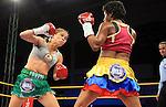 Liliana Palmera se coronó campeona mundial interina supergallo de la AMB al vencer en Barranquilla a Ana María Lozano por UD.