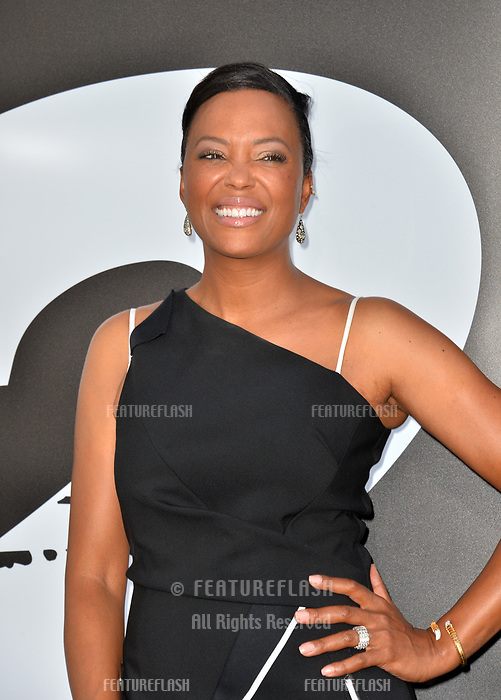 Aisha Tyler at the premiere for &quot;The Equalizer 2&quot; at the TCL Chinese Theatre, Los Angeles, USA 17 July 2018<br /> Picture: Paul Smith/Featureflash/SilverHub 0208 004 5359 sales@silverhubmedia.com