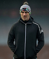 Harlequins' Head Coach Paul Gustard<br /> <br /> Photographer Bob Bradford/CameraSport<br /> <br /> European Rugby Challenge Cup Pool 5 - Harlequins v Benetton Treviso - Saturday 15th December 2018 - Twickenham Stoop - London<br /> <br /> World Copyright © 2018 CameraSport. All rights reserved. 43 Linden Ave. Countesthorpe. Leicester. England. LE8 5PG - Tel: +44 (0) 116 277 4147 - admin@camerasport.com - www.camerasport.com