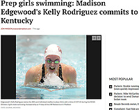 Edgewood's Kelly Rodriguez swims the 200 yard individual medley to place third, with a time of 2:07.45<br /> during the WIAA Division 2 girls state swimming championship on Friday, 11/11/16, at the UW Natatorium in Madison | 10/4/17 Wisconsin State Journal article online at http://host.madison.com/wsj/sports/high-school/swimming/prep-girls-swimming-madison-edgewood-s-kelly-rodriguez-commits-to/article_03615caa-fa64-5bb6-a5ad-fc09c5497832.html
