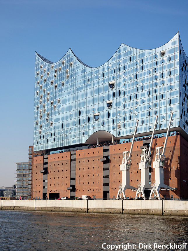 Elbphilharmonie in der Hafencity, Hamburg, Deutschland, Europa<br /> Concert hall Elbphilharmonie in the Hafencity, Hamburg, Germany, Europe