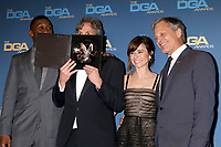 LOS ANGELES - FEB 2:  Mahershala Ali, Peter Farrelly, Linda Cardellini, Viggo Mortensen at the 2019 Directors Guild of America Awards at the Dolby Ballroom on February 2, 2019 in Los Angeles, CA