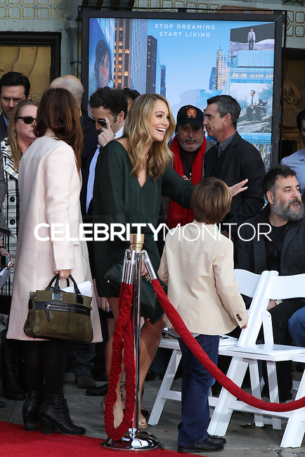 HOLLYWOOD, CA - DECEMBER 03: Christine Taylor attending the Ben Stiller Hand/Footprint Ceremony held at TCL Chinese Theatre on December 3, 2013 in Hollywood, California. (Photo by David Acosta/Celebrity Monitor)