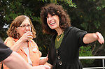 Iris Quigley and Jamie Talan seen attending the Newsday Family Reunion at the Pavillion at Sunken Meadow State Park in Kings Park, NY,  on Thursday August 12, 2010. Photo © Jim Peppler 2010.