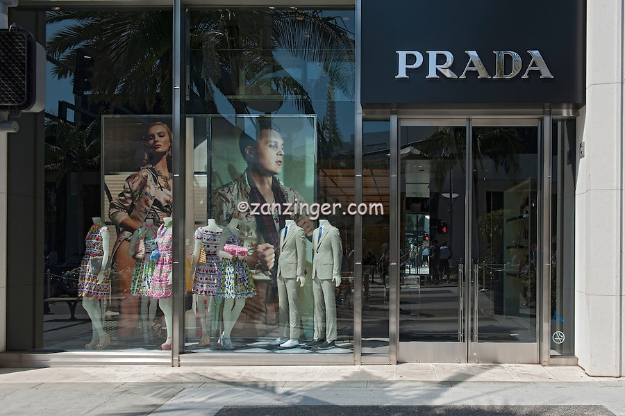 PRADA, Rodeo Drive, Beverly Hills, CA, Luxury Shopping, Clothing, Boutique,