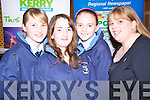 OPENING: Attending the opening of the Foodfair at the Listowel Arms Hotel on Friday night were students Jennifer Brosnan, Claire Walsh and Sinead Breen with their home economics teacher Maria O'Donovan from St Joseph's Secondary school, Ballybunion.   Copyright Kerry's Eye 2008