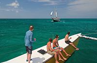 TAE- Aruba Catamaran Snorkeling Excursion during HAL Koningsdam S. Caribbean Cruise, Aruba 3 19
