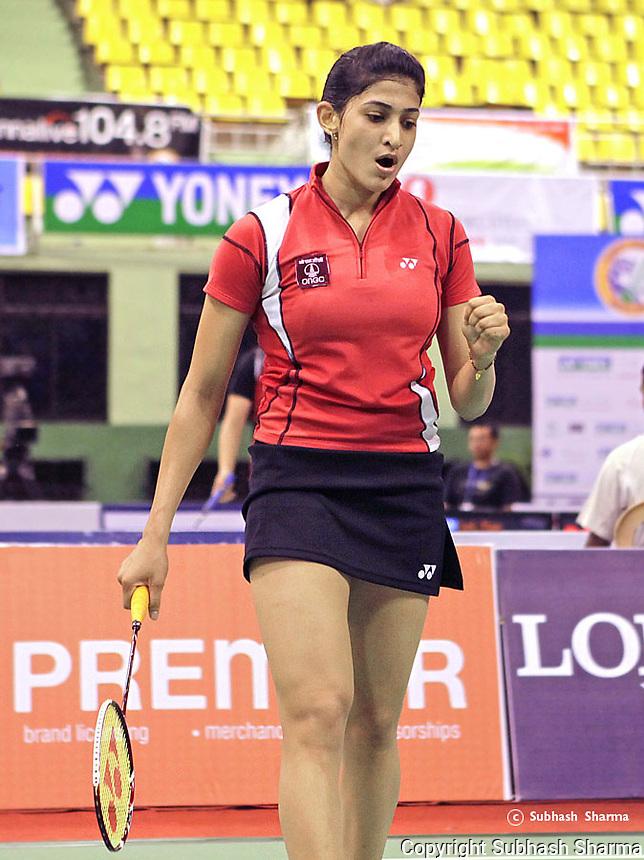 Badminton Player Ashwini Ponnappa