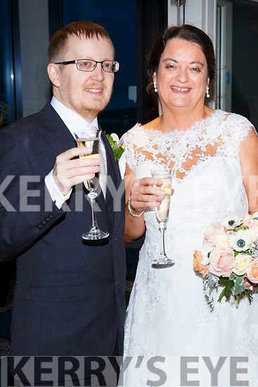 Joanne McCabe, daughter of Tony & Mary, from Ballinskelligs & Dublin and Mathew Moore, son of Alan & Barbra, from Manchester, UK who were married on Saturday in St Michaels Church, Dungegan. Fr. Patsy Lynch officiated at the ceremony. Bridesmaid was Rosemary Lyne assisted by Patricia O'Leary & Katie O'Meara, Best men were Andrew Padley & Michael McCabe.  Flower girls were Ava, Grace & Holly Lyne.  The The reception was held in the Sea Lodge Hotel, Waterville and the couple will reside in Ballinskelligs.