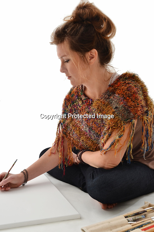 Stock photo of Woman Artist