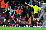 West Ham's Mark Noble appeals for a penalty<br /> <br /> Barclays Premier League - West Ham United v Stoke City - Upton Park - England -12th December 2015 - Picture David Klein/Sportimage