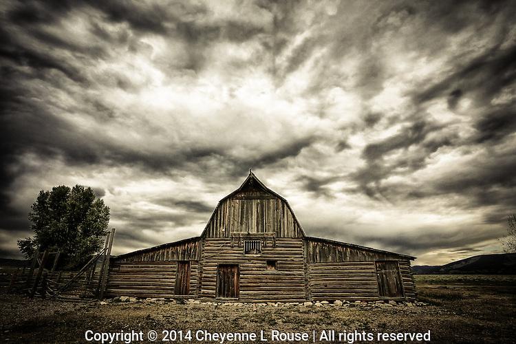 Mormon Row Barn (moody) - Wyoming - Grand Teton NP