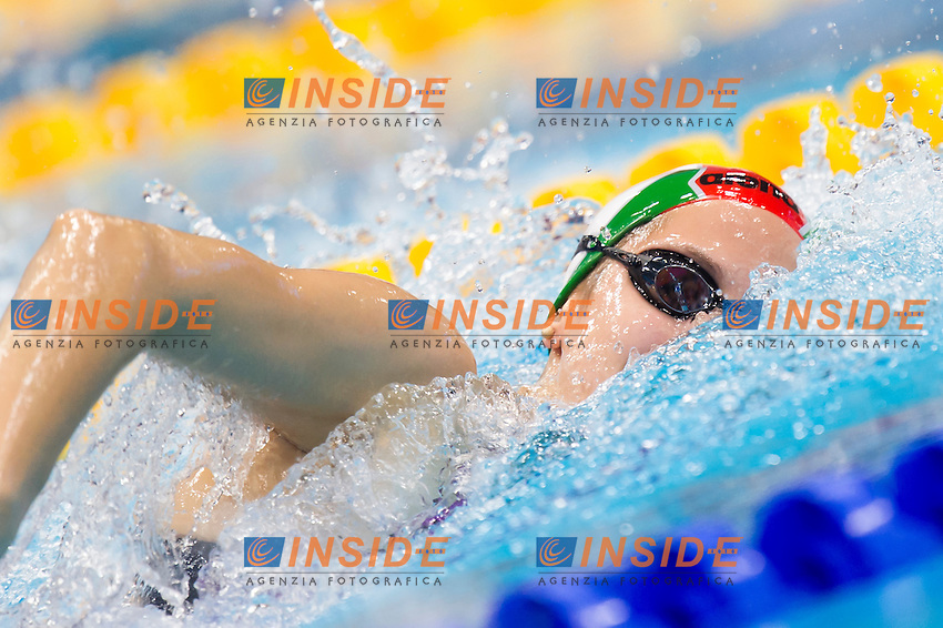 KAPAS Boglarka HUN gold medal<br /> London, Queen Elizabeth II Olympic Park Pool <br /> LEN 2016 European Aquatics Elite Championships <br /> Swimming<br /> Women's 400m freestyle final<br /> Day 14 22-05-2016<br /> Photo Giorgio Perottino/Deepbluemedia/Insidefoto