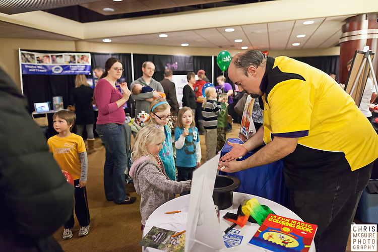 02/12/12 - Kalamazoo, MI: Kalamazoo Baby & Family Expo.  Photo by Chris McGuire.  R#20