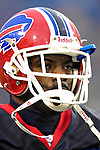 17 December 2006: Buffalo Bills cornerback Terrence McGee prepares for a game against the Miami Dolphins at Ralph Wilson Stadium in Orchard Park, New York. The Bills defeated the Dolphins 21-0.. .Mandatory Photo Credit: Ed Wolfstein Photo<br />
