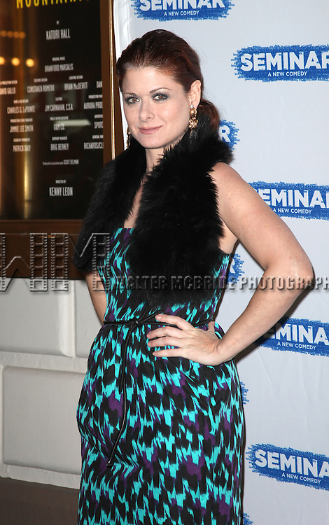 Debra Messing.arriving for the Broadway Opening Night Performance of 'Seminar' at the Golden Theatre in New York City on 11/20/2011.