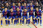 League LNFS 2017/2018 - Game 18.<br /> FC Barcelona Lassa vs Catgas Energia: 2-2.