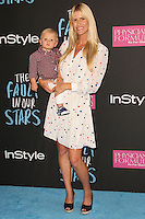 NEW YORK CITY, NY, USA - JUNE 02: Ryden Hunter-Reay, Beccy Gordon at the New York Premiere Of 'The Fault In Our Stars' held at Ziegfeld Theatre on June 2, 2014 in New York City, New York, United States. (Photo by Jeffery Duran/Celebrity Monitor)